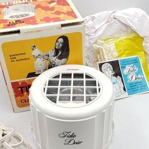 Ronco 1970 Tidie Drier-Clothes & Hair Dryer Bonnet